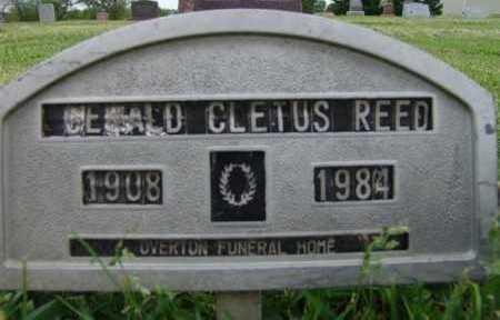 REED, GERALD CLETUS - Warren County, Iowa   GERALD CLETUS REED