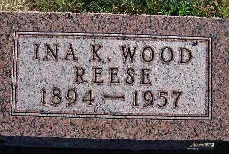 REESE, INA K. WOOD - Warren County, Iowa | INA K. WOOD REESE