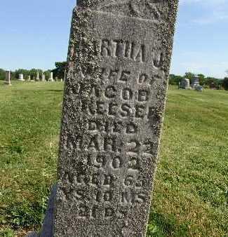 REESE, MARTHA J. - Warren County, Iowa | MARTHA J. REESE