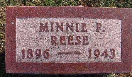 REESE, MINNIE P. - Warren County, Iowa | MINNIE P. REESE