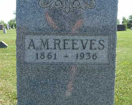REEVES, A. M. - Warren County, Iowa | A. M. REEVES