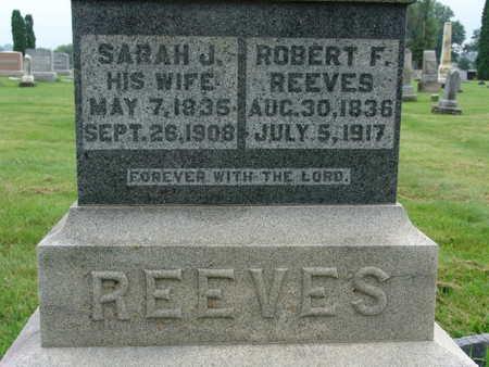 REEVES, ROBERT F - Warren County, Iowa   ROBERT F REEVES