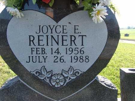 REINERT, JOYCE E. - Warren County, Iowa   JOYCE E. REINERT