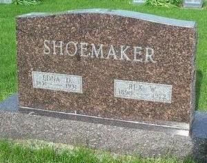 SHOEMAKER, EDNA - Warren County, Iowa | EDNA SHOEMAKER