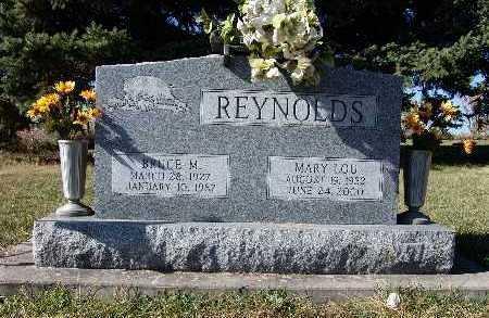 REYNOLDS, BRUCE M. - Warren County, Iowa | BRUCE M. REYNOLDS