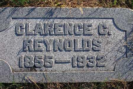 REYNOLDS, CLARENCE C. - Warren County, Iowa | CLARENCE C. REYNOLDS