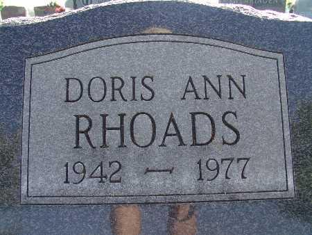 RHOADS, DORIS ANN - Warren County, Iowa | DORIS ANN RHOADS