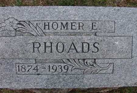 RHOADS, HOMER E. - Warren County, Iowa | HOMER E. RHOADS