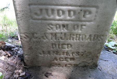 RHOADS, JUDD P. - Warren County, Iowa | JUDD P. RHOADS