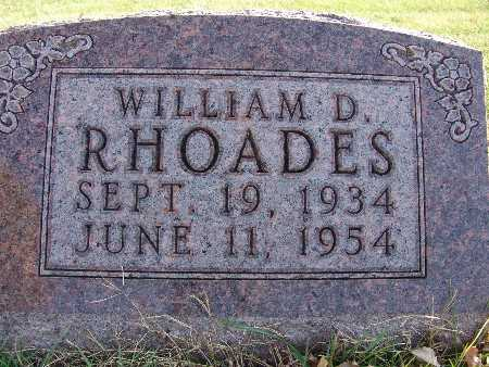 RHOADS, WILLIAM D. - Warren County, Iowa | WILLIAM D. RHOADS