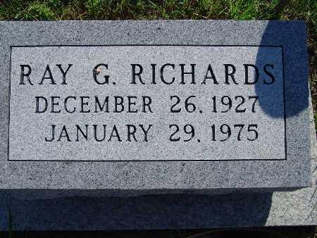 RICHARDS, RAY G - Warren County, Iowa | RAY G RICHARDS