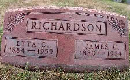 RICHARDSON, JAMES C. - Warren County, Iowa | JAMES C. RICHARDSON