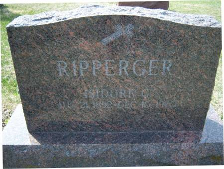 RIPPERGER, ISIDORE G - Warren County, Iowa   ISIDORE G RIPPERGER