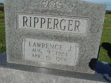 RIPPERGER, LAWRENCE J. - Warren County, Iowa   LAWRENCE J. RIPPERGER
