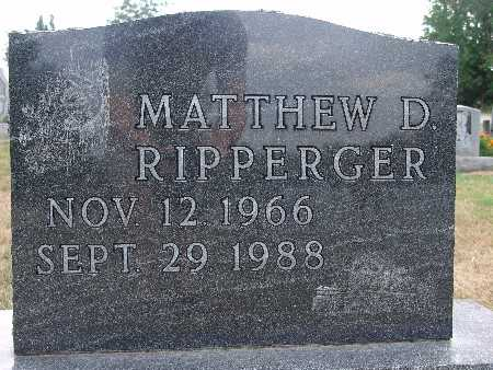RIPPERGER, MATTHEW D. - Warren County, Iowa | MATTHEW D. RIPPERGER