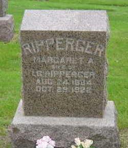 RIPPERGER, MARGARET A - Warren County, Iowa   MARGARET A RIPPERGER