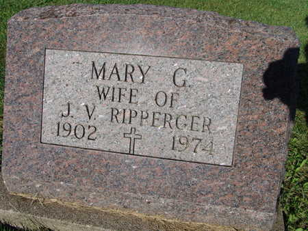 RIPPERGER, MARY G. - Warren County, Iowa | MARY G. RIPPERGER