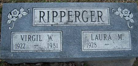 RIPPERGER, VIRGIL W. - Warren County, Iowa | VIRGIL W. RIPPERGER