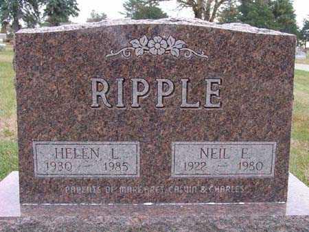 RIPPLE, HELEN L. - Warren County, Iowa | HELEN L. RIPPLE