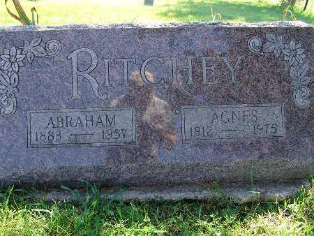 RITCHEY, AGNES - Warren County, Iowa | AGNES RITCHEY