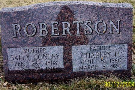 ROBERTSON, CHARLEY H - Warren County, Iowa | CHARLEY H ROBERTSON