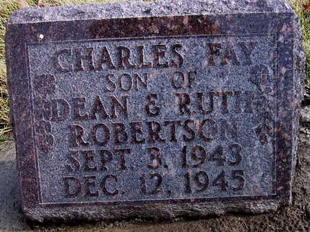 ROBERTSON, CHARLES FAY - Warren County, Iowa | CHARLES FAY ROBERTSON