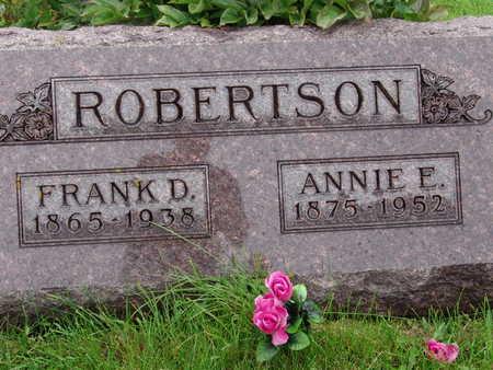 ROBERTSON, ANNIE E - Warren County, Iowa | ANNIE E ROBERTSON