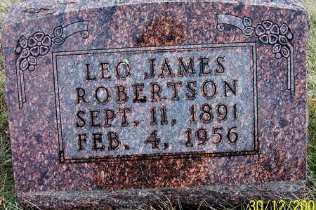ROBERTSON, LEO - Warren County, Iowa | LEO ROBERTSON