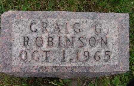 ROBINSON, CRAIG G. - Warren County, Iowa   CRAIG G. ROBINSON