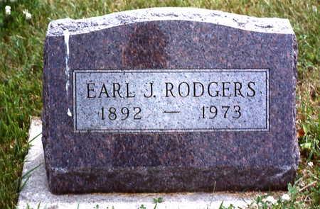 RODGERS, EARL J. - Warren County, Iowa | EARL J. RODGERS