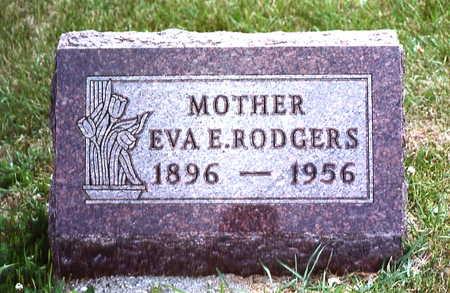 RODGERS, EVA E. - Warren County, Iowa   EVA E. RODGERS