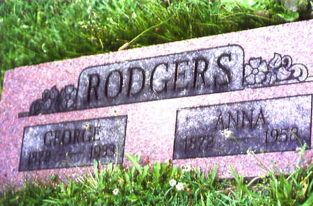 HETTIGER RODGERS, ANNA - Warren County, Iowa | ANNA HETTIGER RODGERS