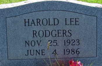 RODGERS, HAROLD LEE - Warren County, Iowa | HAROLD LEE RODGERS