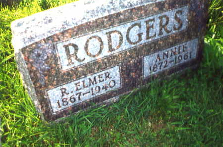 RODGERS, ANNIE - Warren County, Iowa | ANNIE RODGERS