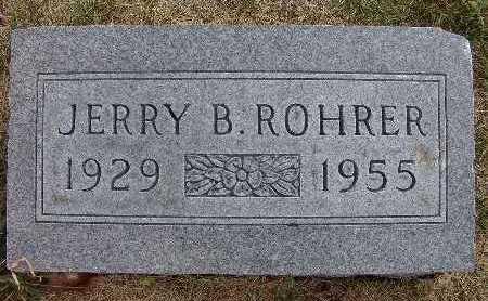 ROHRER, JERRY B. - Warren County, Iowa | JERRY B. ROHRER
