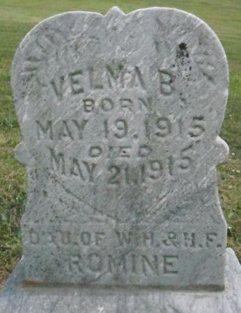 ROMINE, VELMA B. - Warren County, Iowa | VELMA B. ROMINE