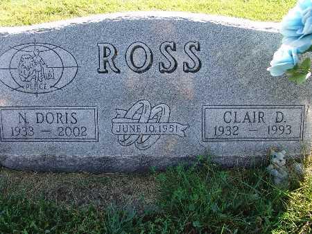 ROSS, CLAIR D. - Warren County, Iowa | CLAIR D. ROSS