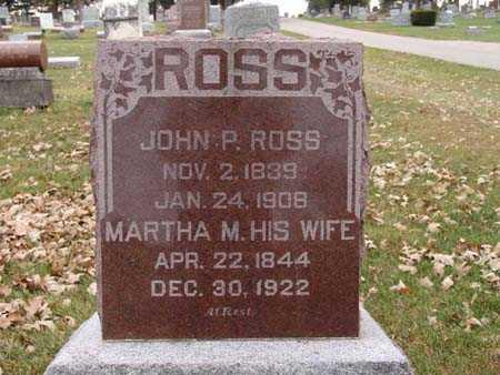 ROSS, JOHN P. - Warren County, Iowa | JOHN P. ROSS