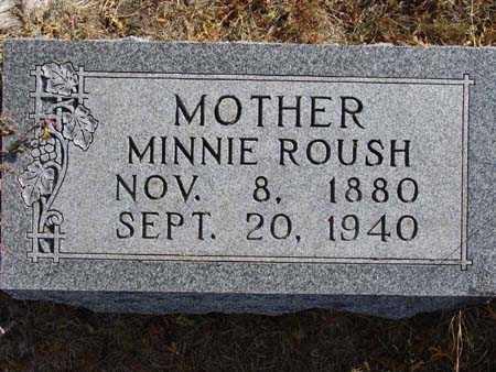 ROUSH, MINNIE - Warren County, Iowa | MINNIE ROUSH