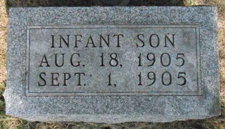 ROY, INFANT SON - Warren County, Iowa | INFANT SON ROY