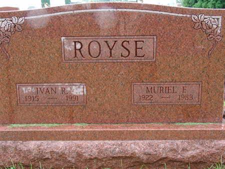ROYSE, MURIEL E - Warren County, Iowa | MURIEL E ROYSE