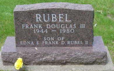 RUBEL, FRANK DOUGLAS III - Warren County, Iowa | FRANK DOUGLAS III RUBEL