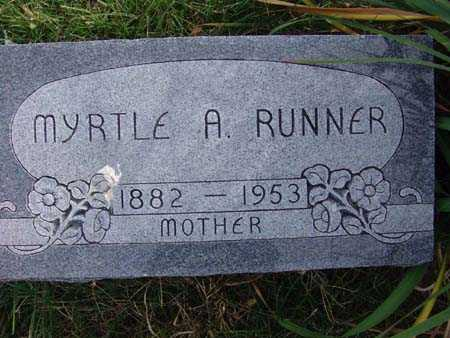 RUNNER, MYRTLE A. - Warren County, Iowa | MYRTLE A. RUNNER
