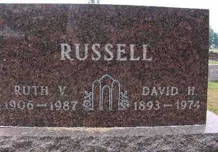 RUSSELL, RUTH V. - Warren County, Iowa | RUTH V. RUSSELL