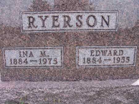 RYERSON, EDWARD - Warren County, Iowa | EDWARD RYERSON