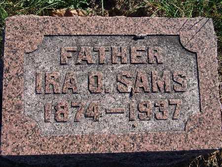 SAMS, IRA O. - Warren County, Iowa | IRA O. SAMS
