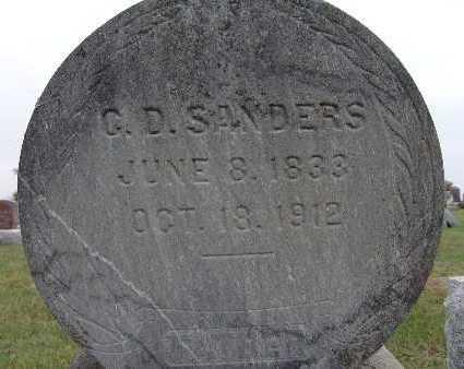 SANDERS, C. D. - Warren County, Iowa | C. D. SANDERS