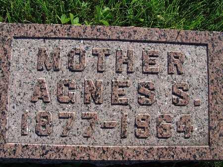 SANDY, AGNES S. - Warren County, Iowa   AGNES S. SANDY