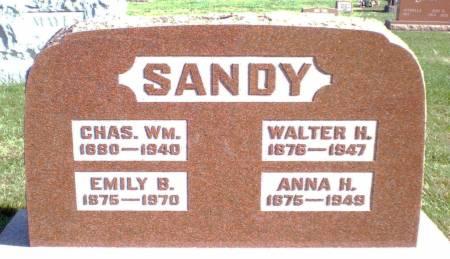SANDY, ANNA H - Warren County, Iowa | ANNA H SANDY