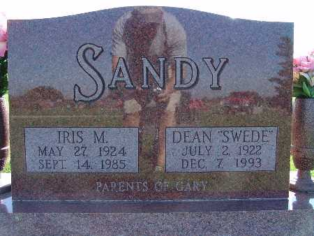 SANDY, IRIS M - Warren County, Iowa | IRIS M SANDY